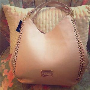 bebe Bags - GORGEOUS ❤️ Bebe Multi-Compartment Blush Bag